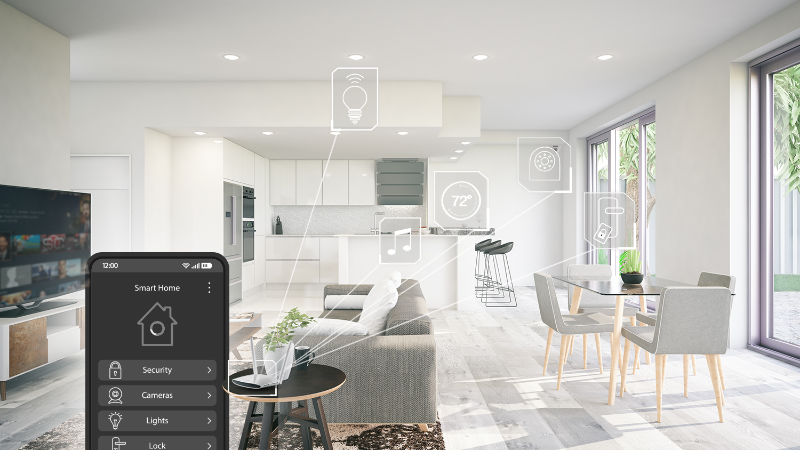 Smart Home with IoT-Enabled Devices