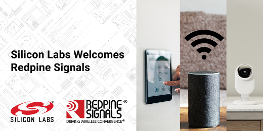 Silicon Labs Welcomes Redpine Signals