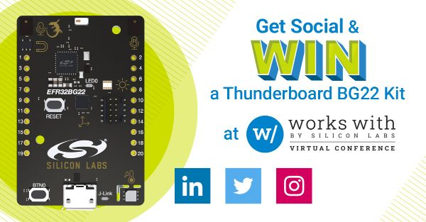 Win a Thunderboard BG22 Kit