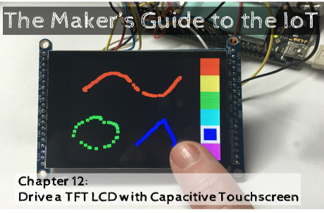 Drive a TFT LCD with Capacitive Touchscreen - Part 2