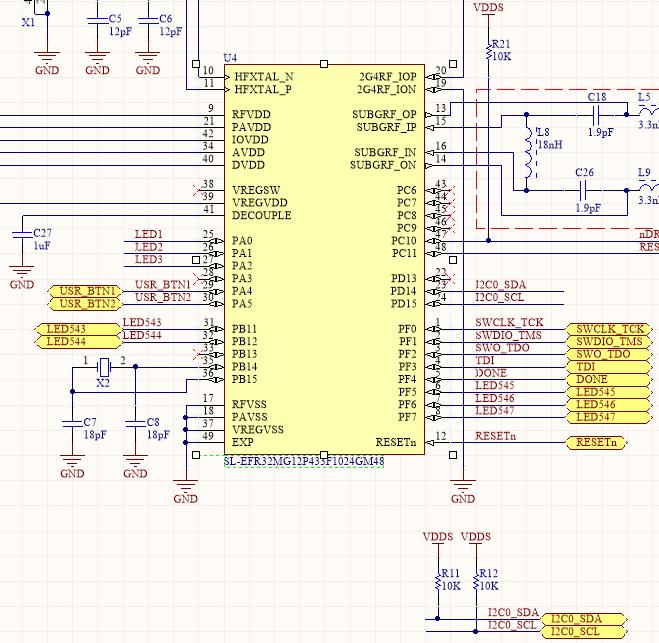I2C communication stuck in Transfer in progress