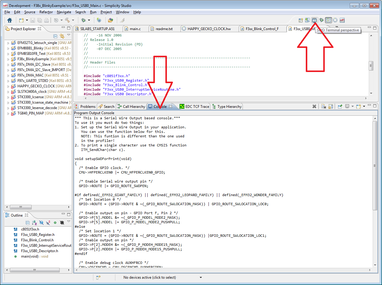 How to display printf output over SWO in Keil µVision