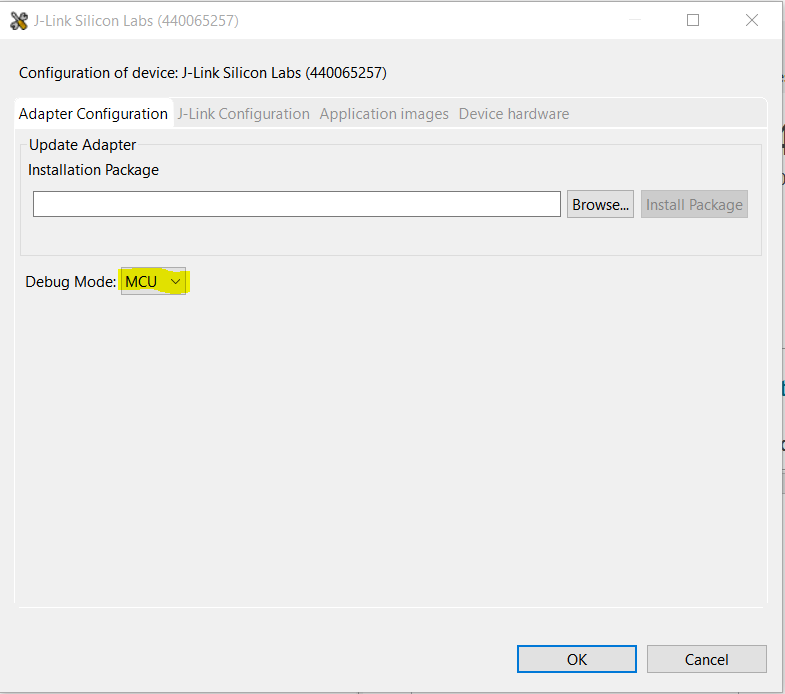 Use AN0042 bootloader on EFM32 STK
