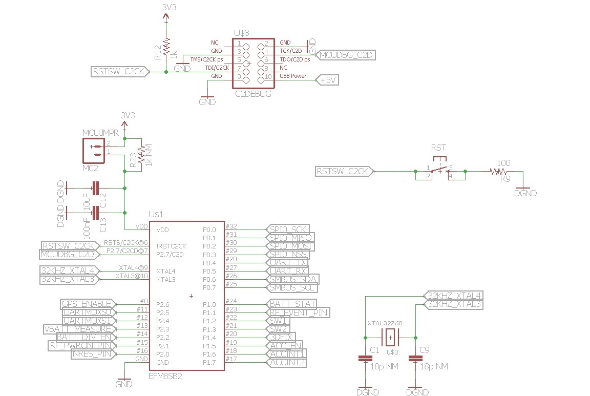 The Silabs Debug Adapter Is Not Working Anymore Usb Power Schematic Efm8sb2 Connection V2