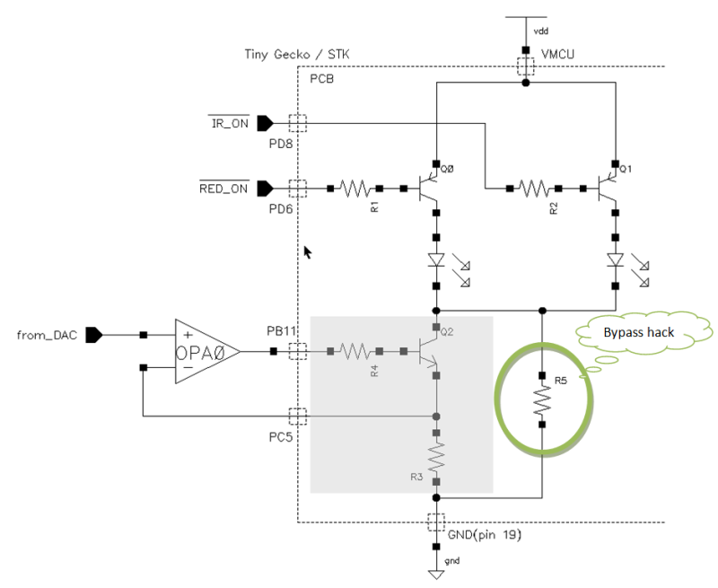 figure 5 led drive and constant current schematic
