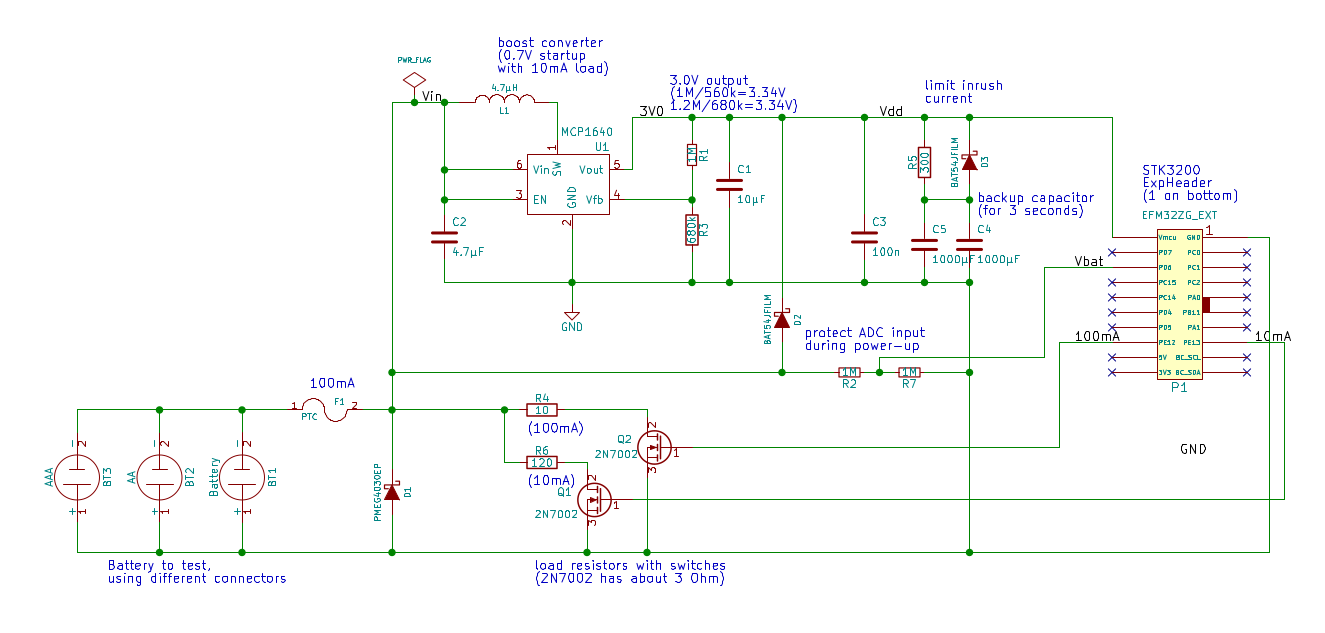 Projects Ir Remote Control Extender Circuit Diagram Nonstop Self Powered Battery Tester Schematic