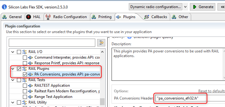 PA conversions plugin